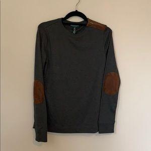 Ralph Lauren elbow patch sweater